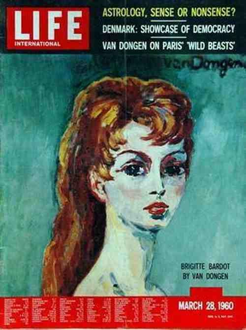 art MARS 1960 BB KEES VAN DONGEN