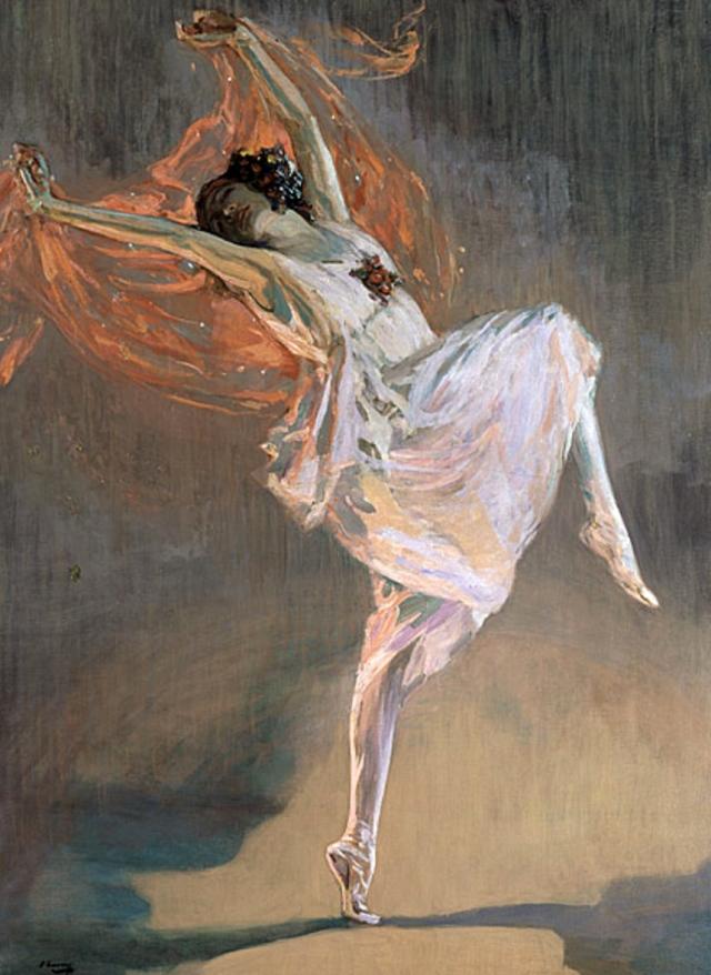 ANNA PAVLOVA JOHN LAVERY 1911
