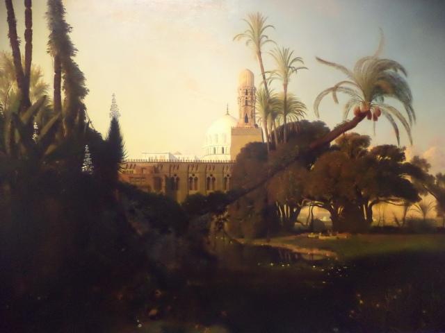 LOINTAINS Prosper Marilhat, Mosquée dans la basse Égypte, vers 1834-1840