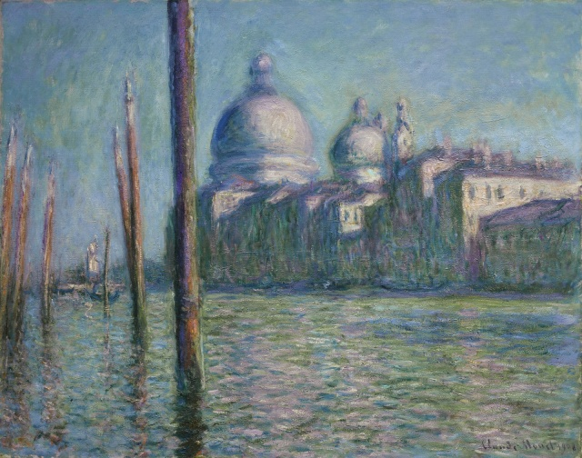 MONET LE GRAND CANAL 1908