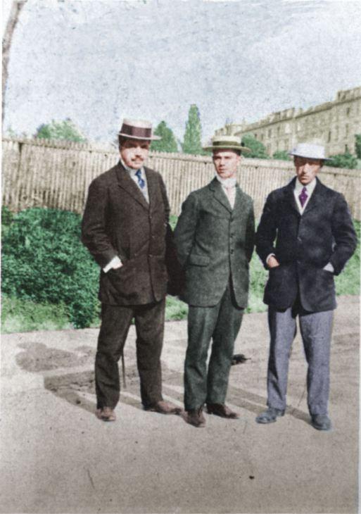 DIAGHILEV STRAVINSKY ET NIJINSKI 1912