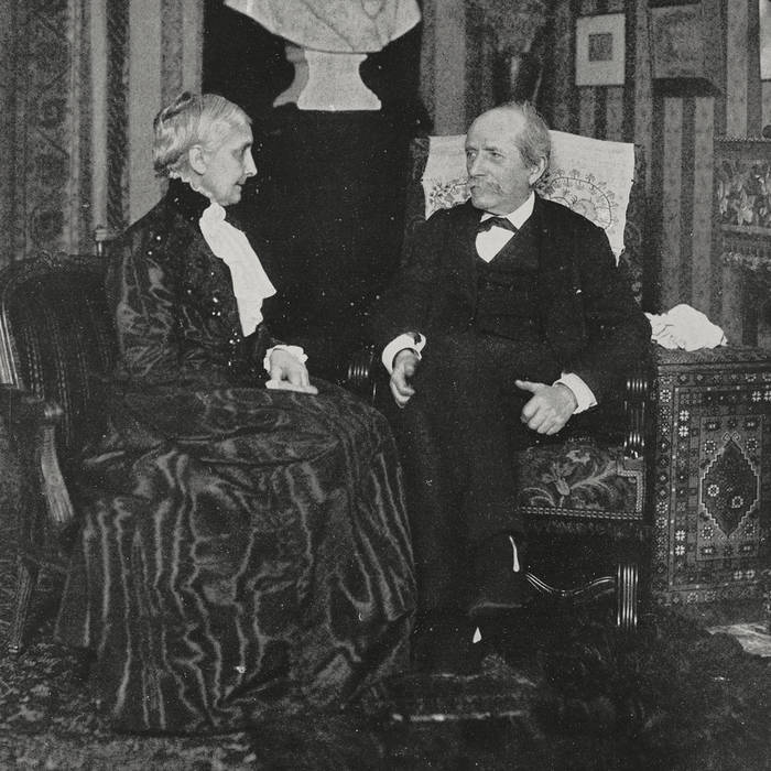 Sophie Niaudet Berthelot et son époux