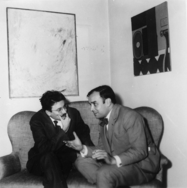 Yves KLEIN et Pierre RESTANY