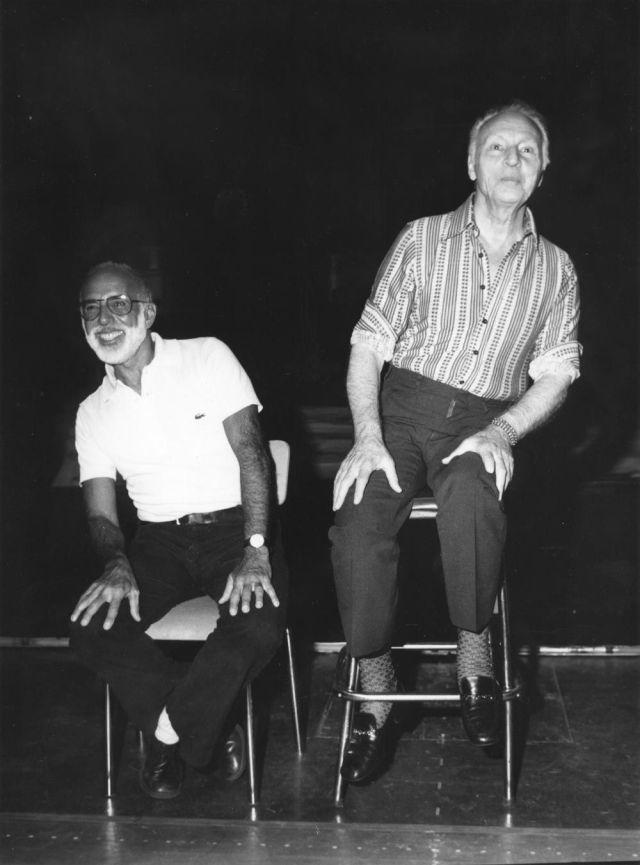 ROBBINS Jerome avec George BALANCHINE