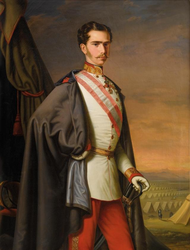 FRANCOIS JOSEPH 1856 Carl Lemmermayer