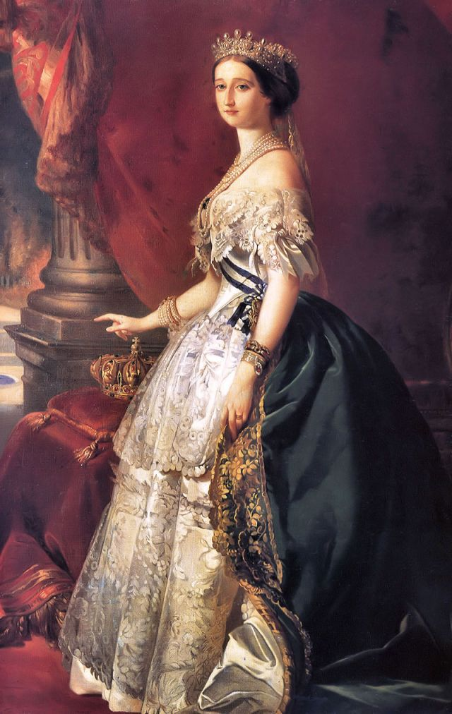 EUGENIE DE MONTIJO Franz Xaver WINTERHALTER