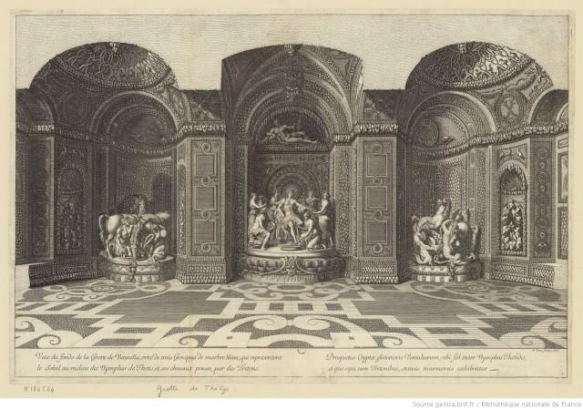 GROTTE DE THETYS 1676 JEAN LEPEAUTRE