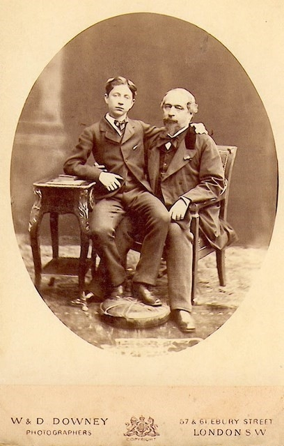 NAPOLEON III et son fils