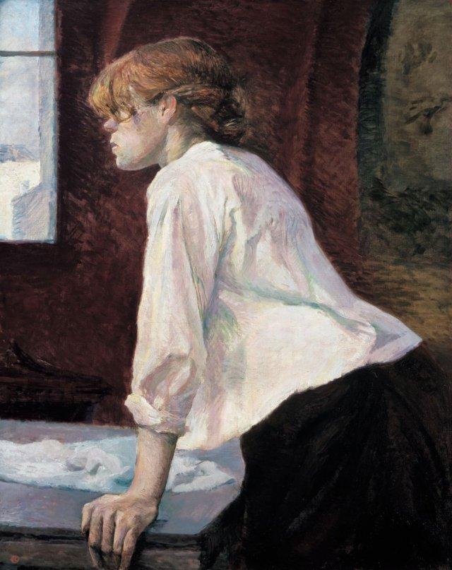 LA BLANCHISSEUSE Toulouse Lautrec.jpg