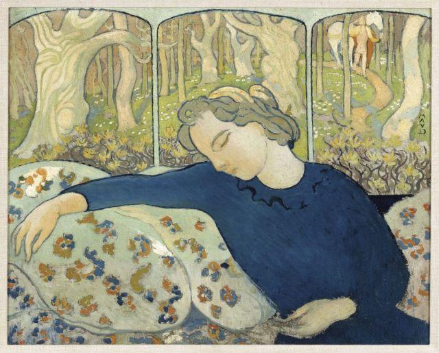 serusier la dormeuse au bois magique maurice denis