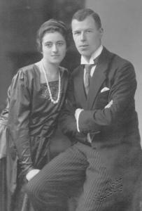 BUHRLE et son épouse Charlotte