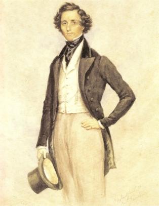 Félix MENDELSSOHN ( portrait par Warren CHILDE)