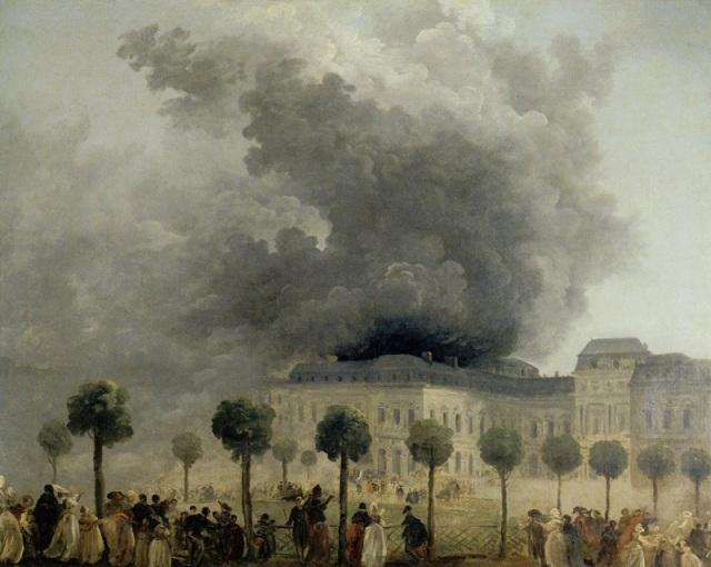 PALAIS ROYAL incendie vu des jardins Hubert Robert Musée Carnavalet.jpg