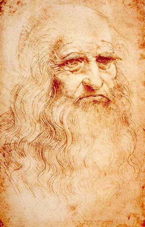 LEONARD DE VINCI autoportrait 1512 1515 Bibliothèque de Turin.jpg
