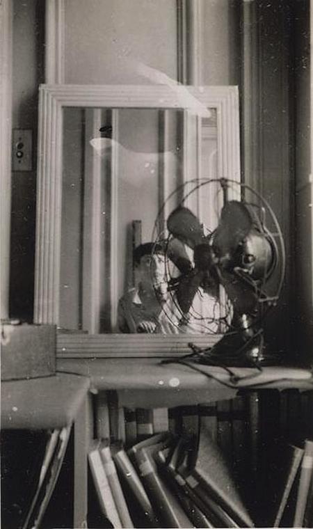 MAAR Autoportrait au ventilateur