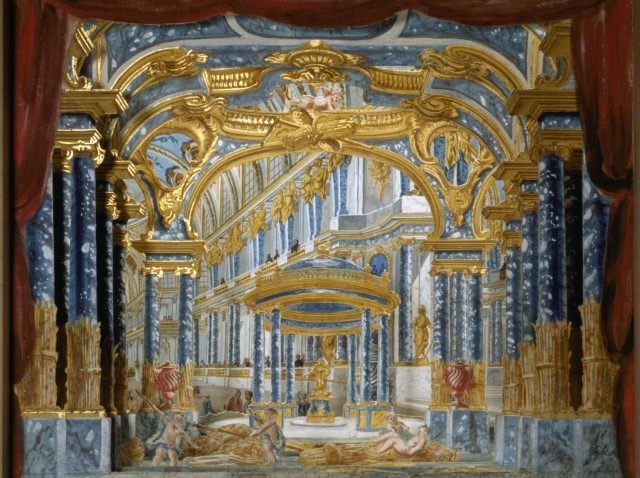 OPERAdécor pour le premier acte de Proserpine de Jean-Baptiste Lully