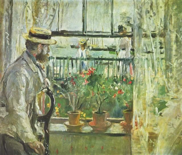 MORISOT Eugène à l'ile de Wight 1875 Musée Marmottan Monet.jpg