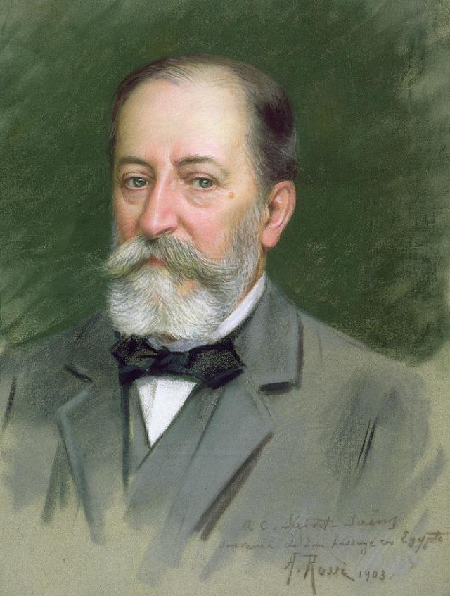 CAMILLE SAINT SAENS par Alberto ROSSI en 1903