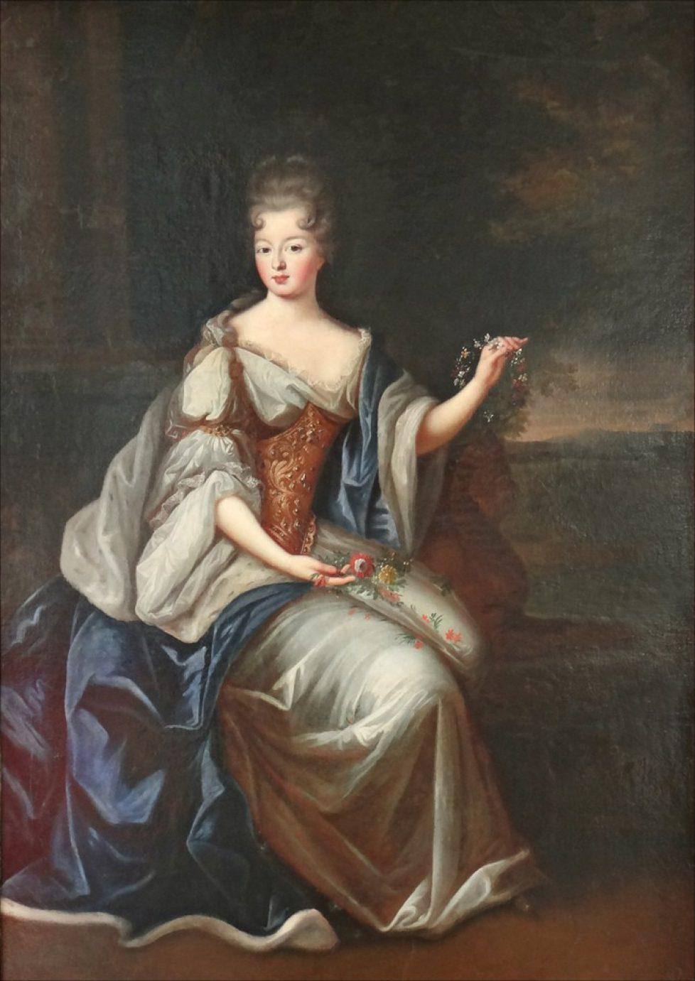 Salons Anne Louise du Maine par Pierre Gobert