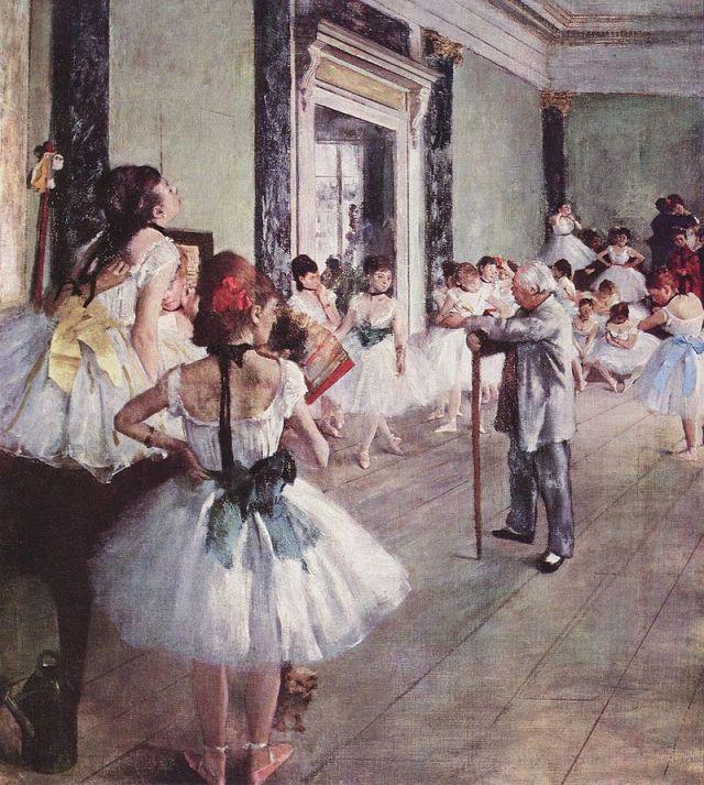 DEGAS Classe de danse 1875