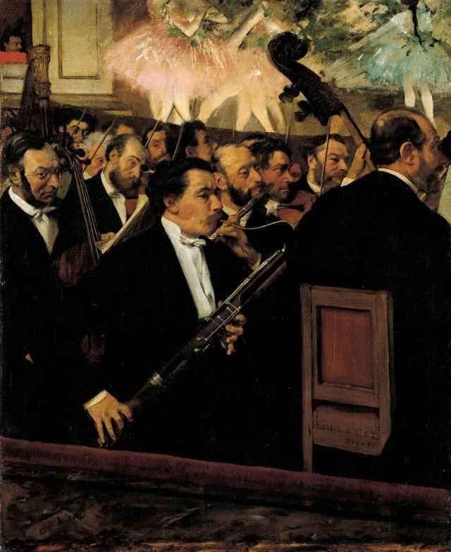 DEGAS L'orchestre de l'Opéra
