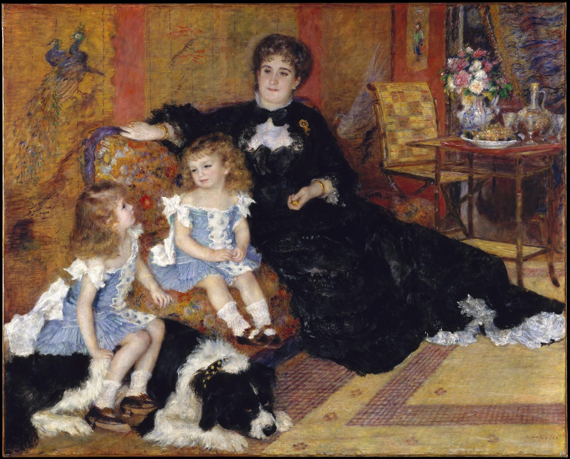 La Mode Et L Art Pierre Auguste Renoir Plumes Pointes Palettes Et Partitions