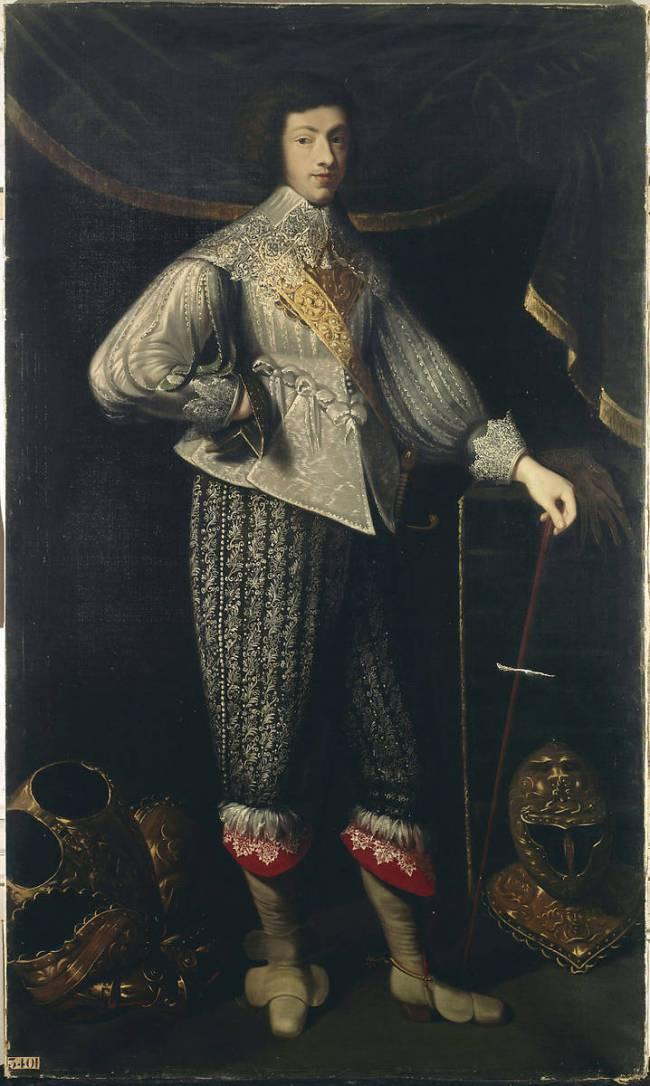 Henri Coiffier de Ruzé d'Effiat marquis de Saint Mars par Léon LESTANG-PARADE