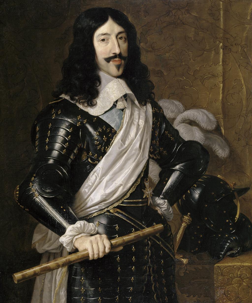 LOUIS XIII par Philippe DE CHAMPAIGNE.jpg