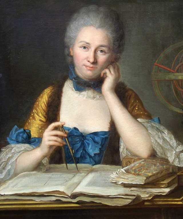 Emilie du Châtelet par QUENTIN LATOUR