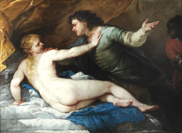 GIORDANO Lucrèce et Tarquin