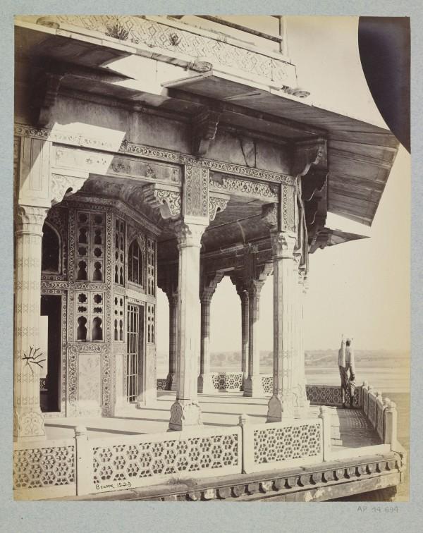 INDE Bourne Agra le Fort rouge