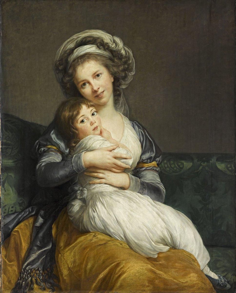 VIGEE LEBRUN et sa fille Julie.jpg
