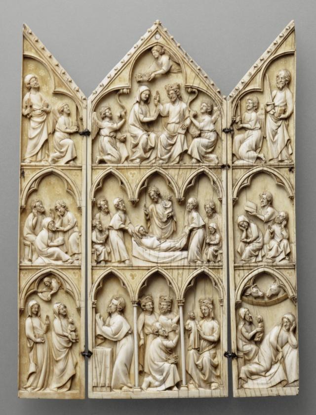 MARQUISE scènes de la vie de la Vierge
