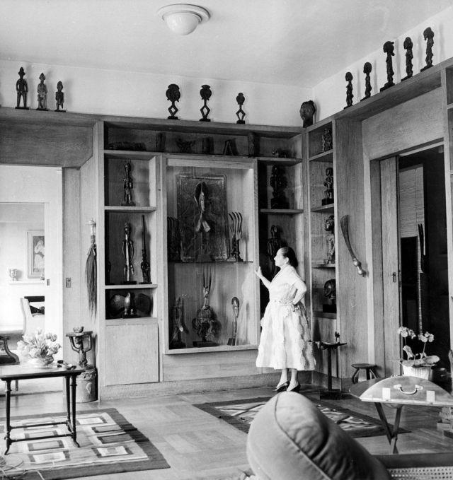 RUBINSTEIN et ses collections appartement de Paris