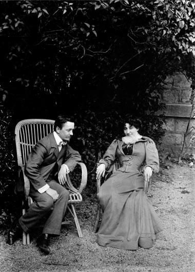 VALLOTTON et son épouse