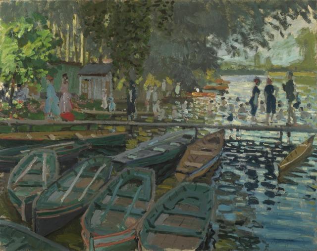 BAINS A LA GRENOUILLERE Monet