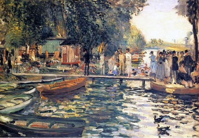 BAINS A LA GRENOUILLERE Renoir