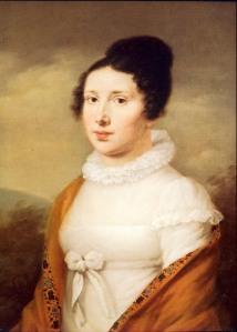 Elisabeth_Röckel 1814 par Joseph Willibrord Mähler