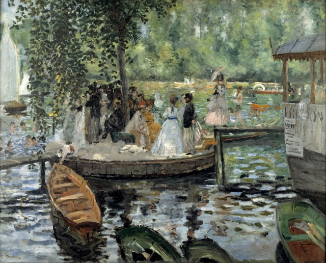 GRENOUILLERE Auguste RENOIR