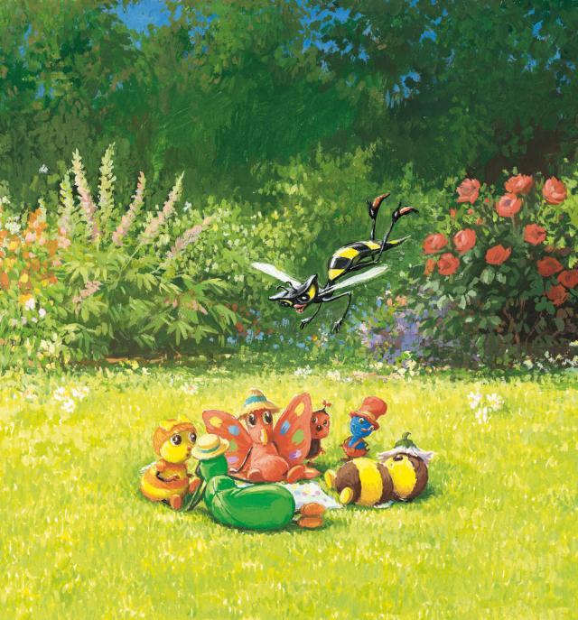 KRINGS Contes d'été des drôles de petites bêtes