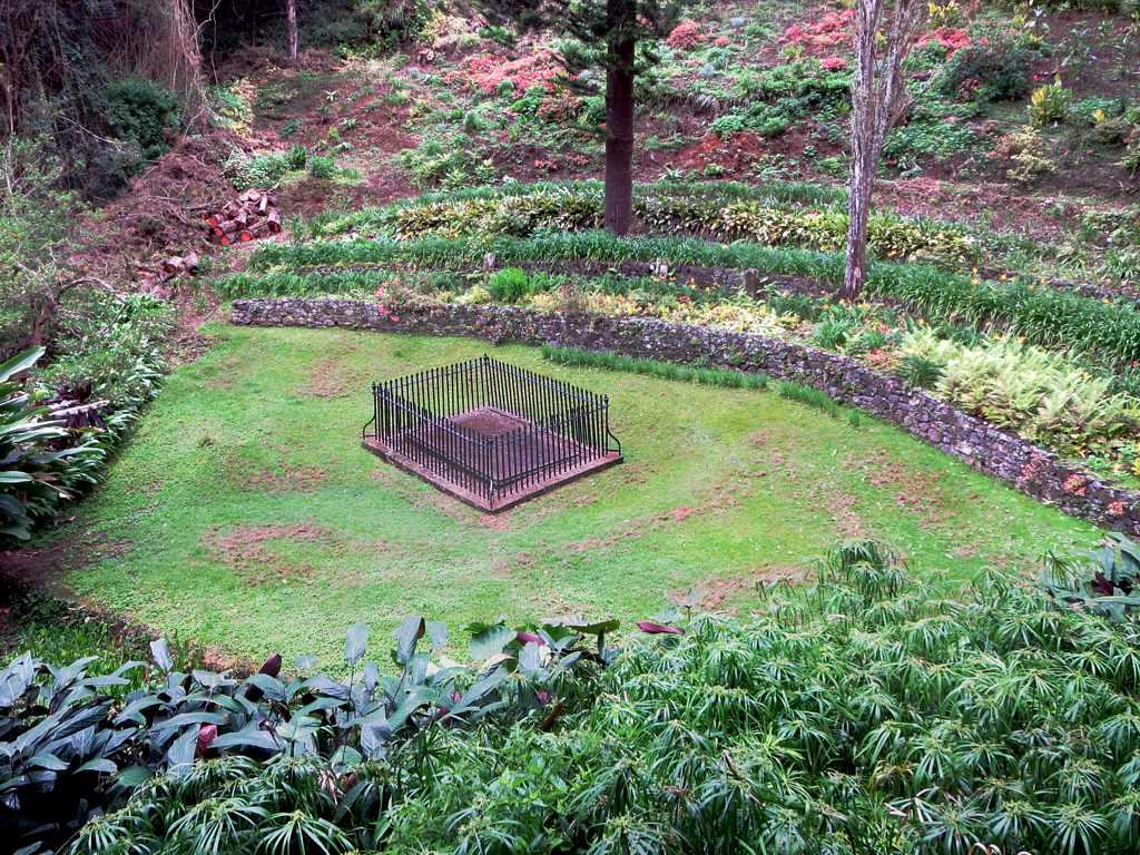NAPOLEON tombeau vallée du géranium