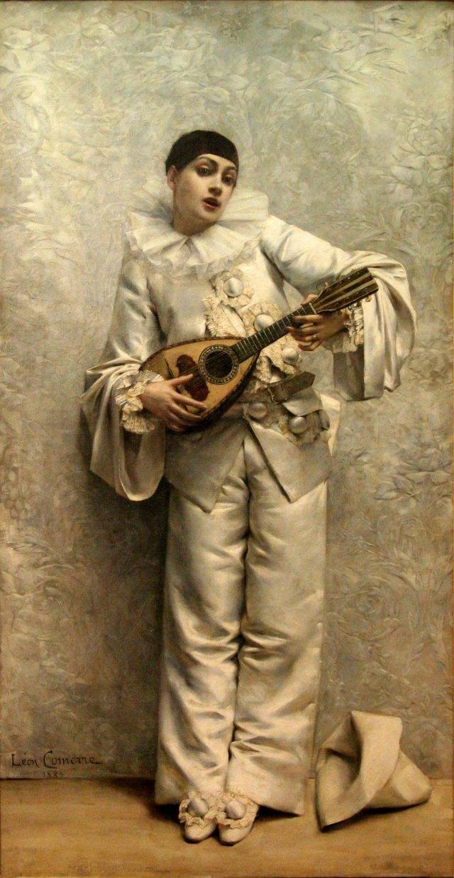 PIERROT jouant de la mandoline François COMERRE