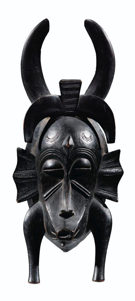 RUBINSTEIN masque SENOUFO Côte d'Ivoire collection privée