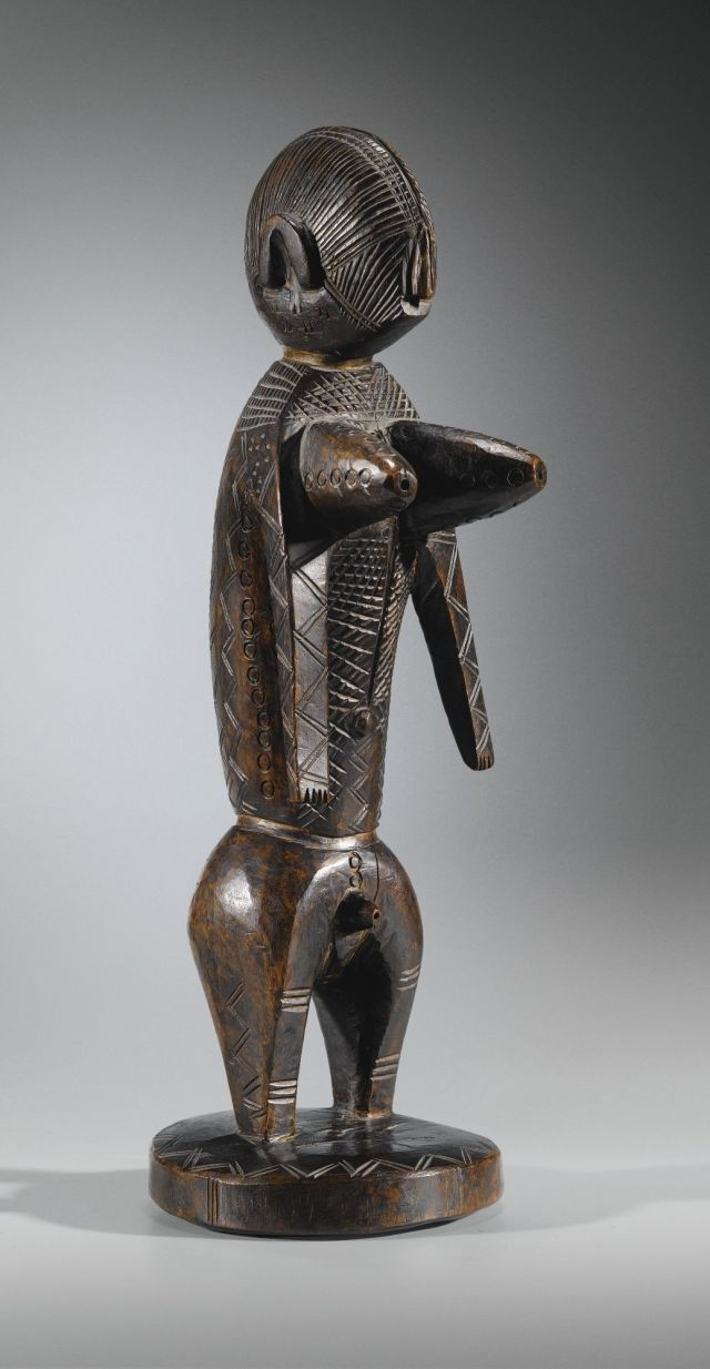 RUBINSTEIN statue Bamana région Sikasso Ganadougou Collection privée