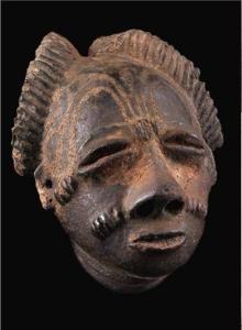 RUBINSTEIN tête funéraire Krinjabo Anyi Cote Ivoire musée du quai Branly