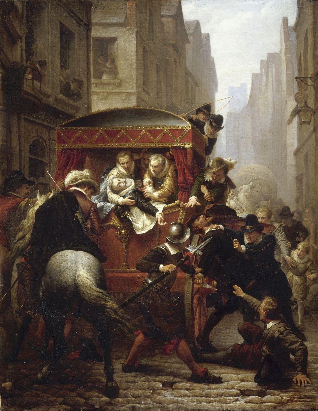 Assassinat d'Henri IV et arrestation de Ravaillac le 14 mai 1610