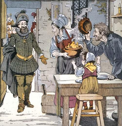 HENRI IV et la poule au pot