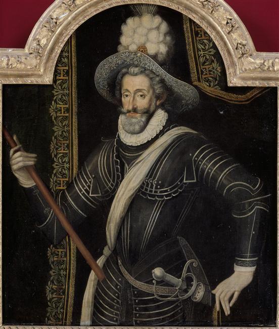 HENRI IV et son panache blanc