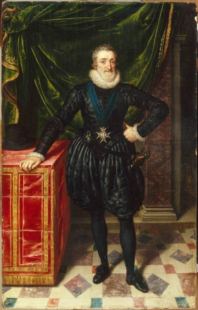 HENRI IV frans POURBUS