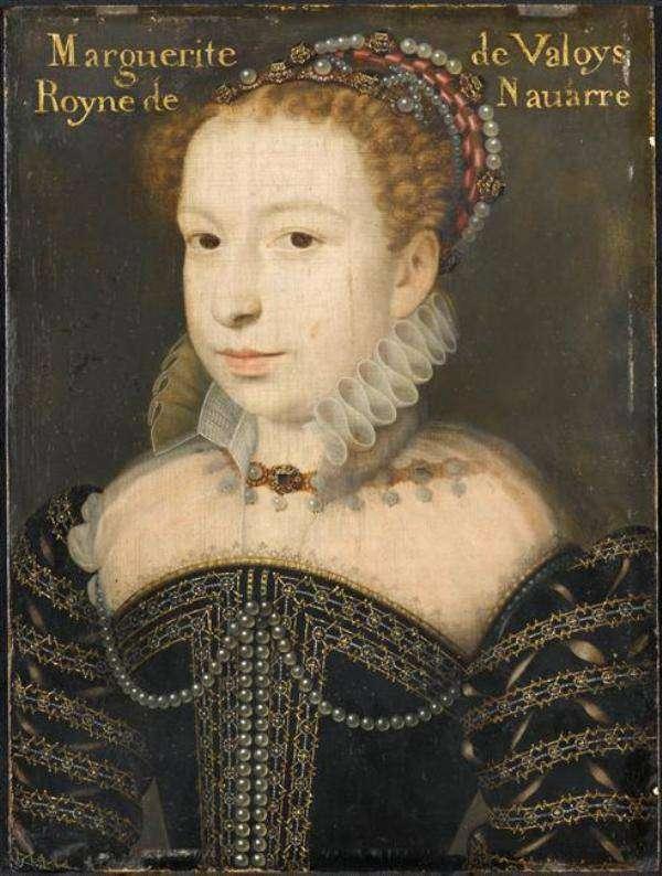 HENRI IV portrait de Marguerite de Valois